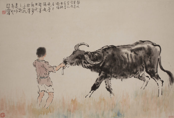A Little Buffalo-Herdsman